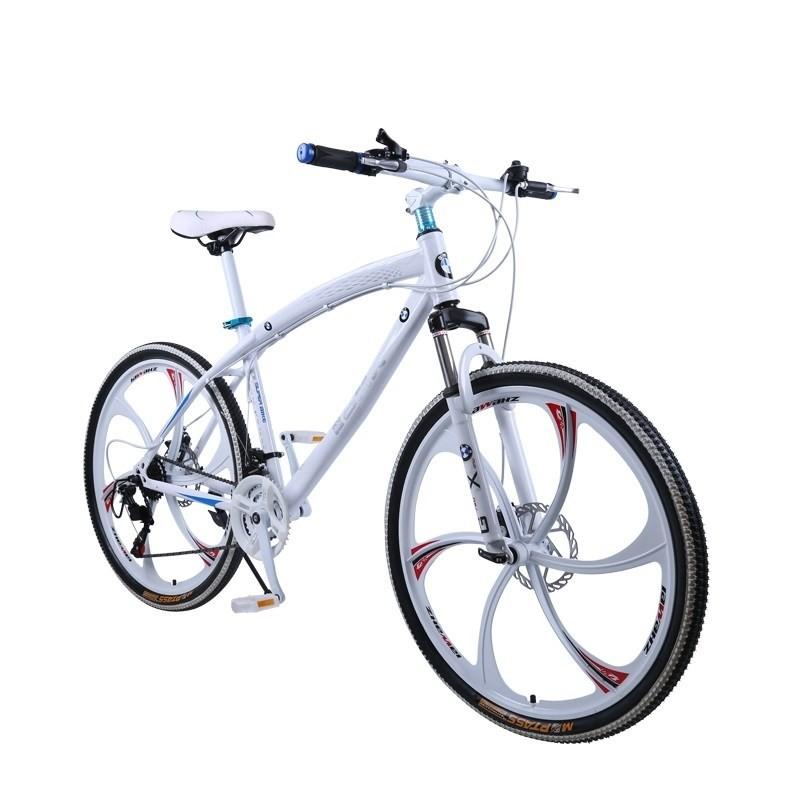 985cbbbe1885a Купить Велосипед BMW на литых дисках 26 дюймов цельная рама белый
